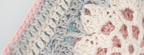 Crochet Pattern - Hint of Spring Potholder