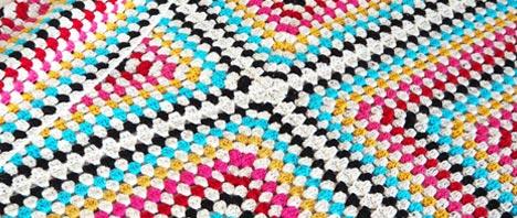 Crochet - A Giant Granny Square Blanket