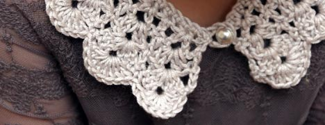 Crochet - Collar Pattern