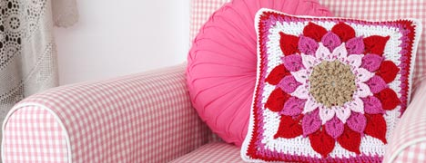 Crochet - Cushion Love