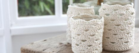 Crochet Pattern - Jar cosy