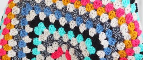 Crochet - Granny Square Shrug