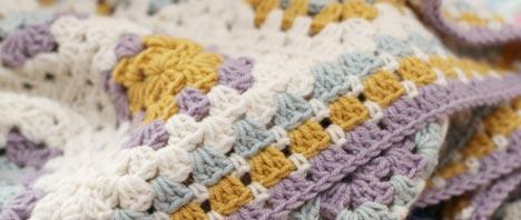 Crochet - Granny Square Blanket