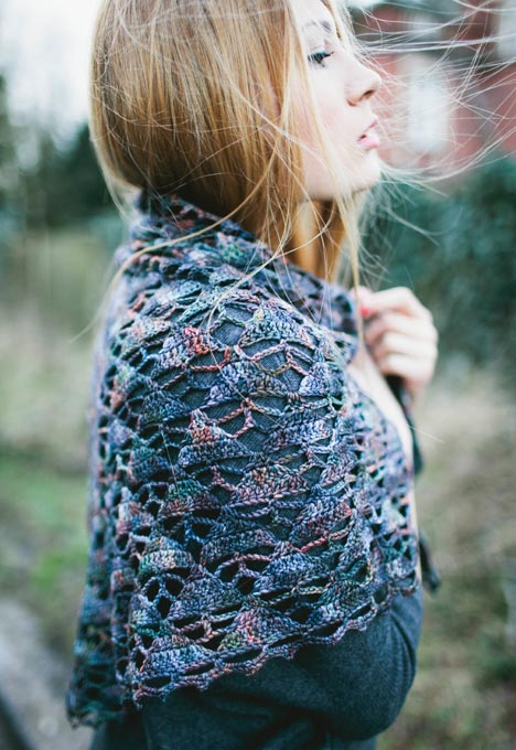 Inside Crochet Magazine Issue 50 - Staccato Shawl