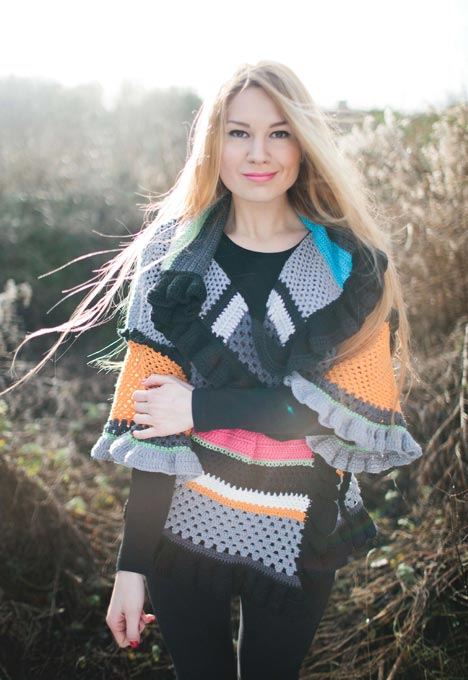 Inside Crochet Issue 50 - Frill Swing Jacket