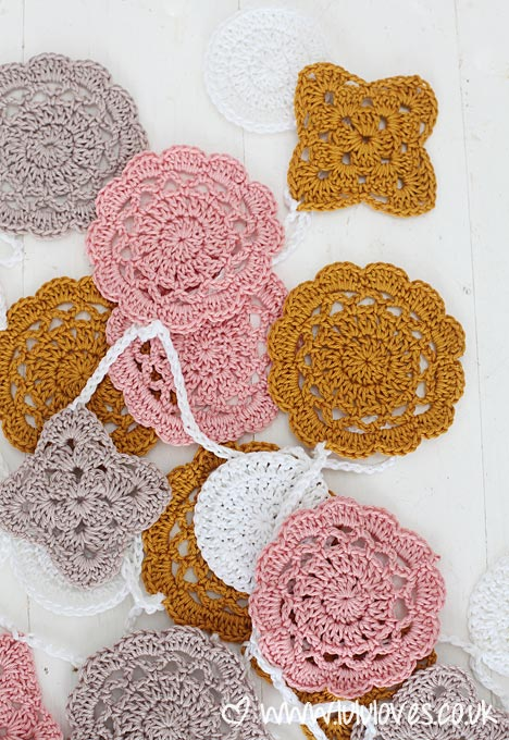 Lululoves Crochet Bunting