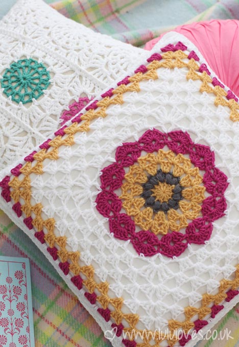 Lululoves Crochet Cushion
