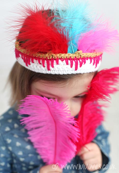 Lululoves Crochet Headdress