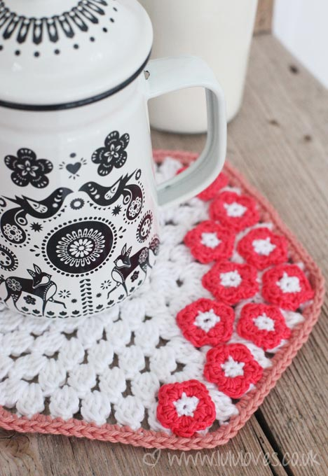 Lululoves Crochet Pot Holder