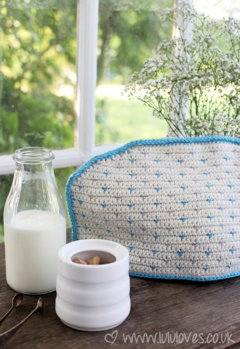 Lululoves Crochet Tea Cosy