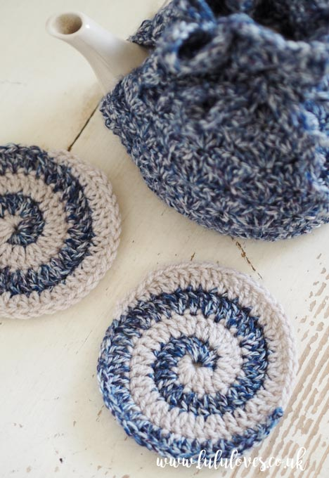 Lululoves: Crochet Coasters