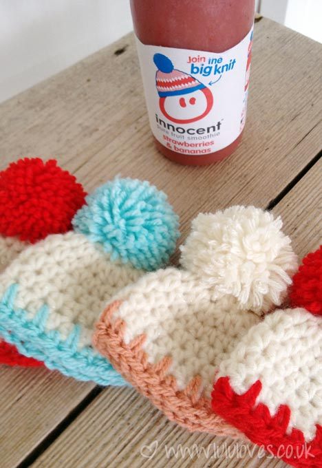 Crochet-Innocent Smoothies Big Knit 2013