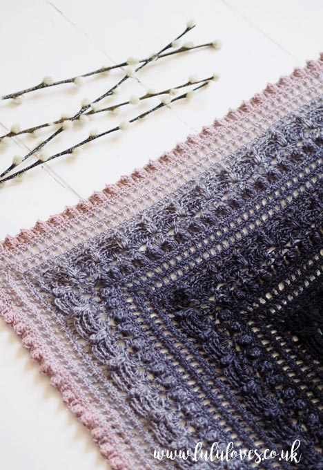 Lululoves Crochet: Lost in Time Shawl by Johanna Lindahl